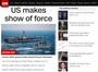 美, '유례 없는' 한반도 일대 항공모함 3개 전단 규모 전진배치, 어느 정도 수준일까?