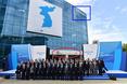 남북공동연락사무소 간판 '련락' 표기 논란