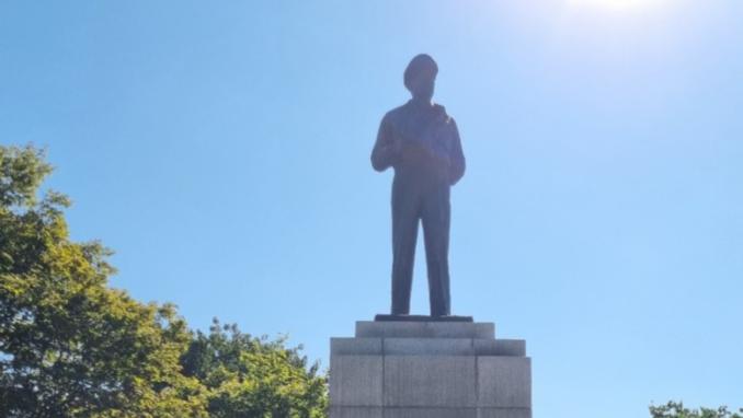 우익 시민 제71회 인천상륙작전 기념식